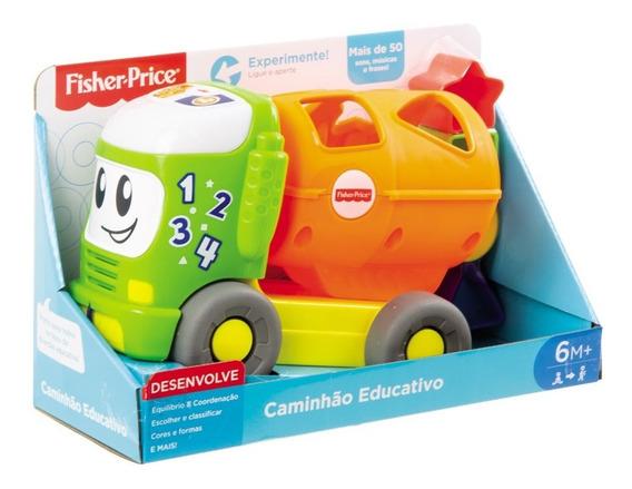 Veículo De Atividades - Caminhão Educativo - Fisher-price