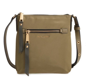 b5f739cff Marc Jacobs Cartera Verde Army Tropper Crossbody Nylon