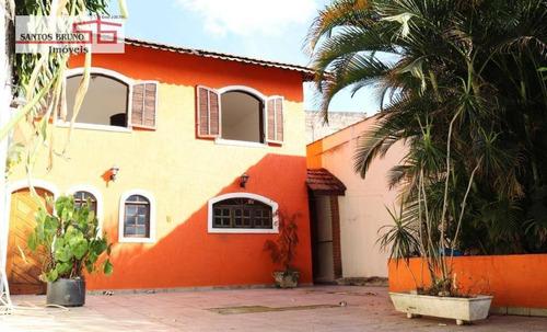 Sobrado Com 3 Dormitórios À Venda, 232 M² Por R$ 450.000,00 - Jardim Maristela - São Paulo/sp - So1184
