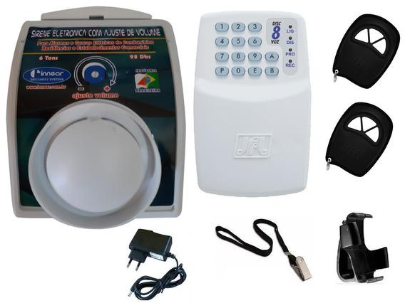 Cuidador Com Alarme P/ Idoso C/ Discadora Telefone Fixo
