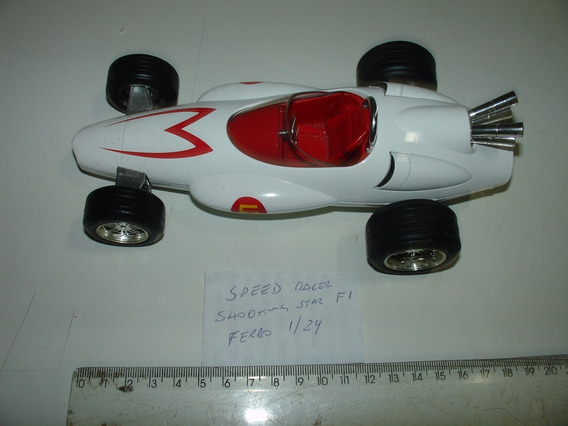 Speed Racer 124 Jada Mach 5 F1 Ferro 2008 Original