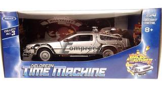 Miniatura Back To The Future 2 Delorean 1/24 Welly