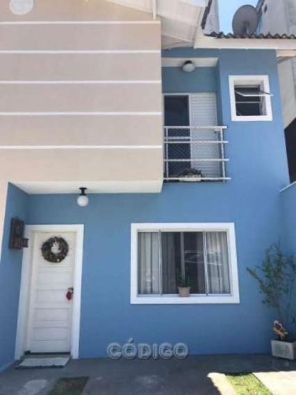 Cond Fechado - Sobrado 3 Dormitórios 2 Vagas - So0051-1