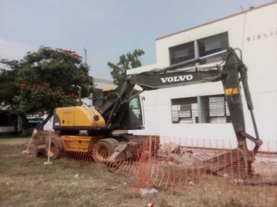Excavadora Neumatica Volvo
