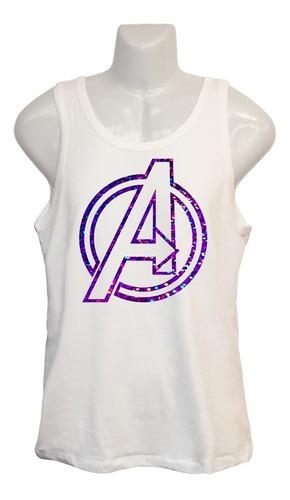 Polera Avengers - Marvel Cómics - Super Héroes - Musculosa