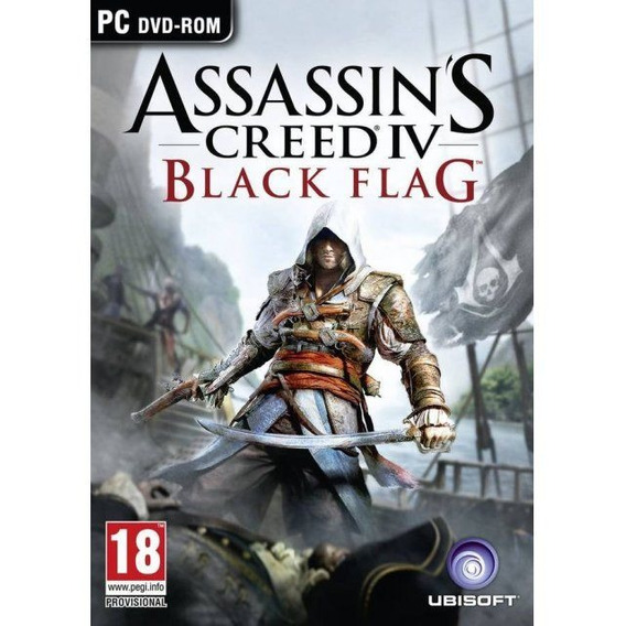 Assassins Creed Iv Black Flag Pc Mídia Física Lacrada