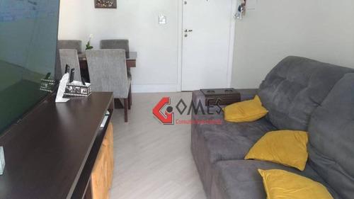 Apartamento À Venda, 56 M² Por R$ 313.000,00 - Vila Valparaíso - Santo André/sp - Ap2803