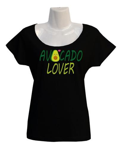 Polera Avocado Lover - Escotada - Kawaii - Cartoons - Regalo
