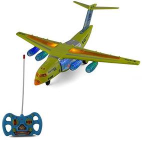 Niño Por Jet Plano Sonidos Control Remoto Avión Y El Luz De KJcFl1T3
