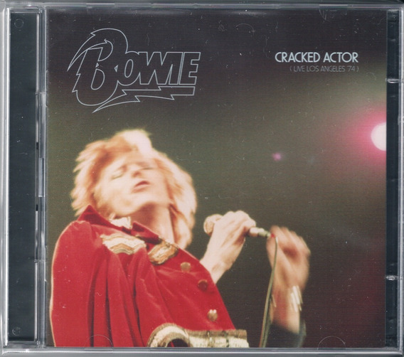 David Bowie - Cracked Actor ( 2 Cds, 2017 )