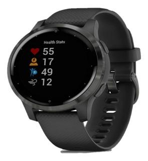 Relógio Gps Smartwatch Garmin Vivo Active 4s Preto 40 Mm