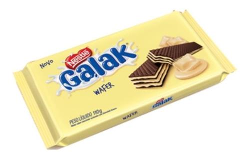 Biscoito Wafer Galak Nestle 110g