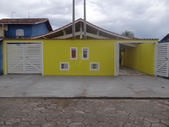 Linda Casa Em Mongaguá À Venda! Ref: 7664 D.