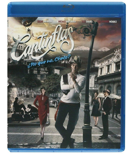 Cantinflas Oscar Jaenada Pelicula Blu-ray