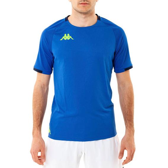 Camiseta Abou 2 Royal-blue Marine S Azul Hombre Kappa