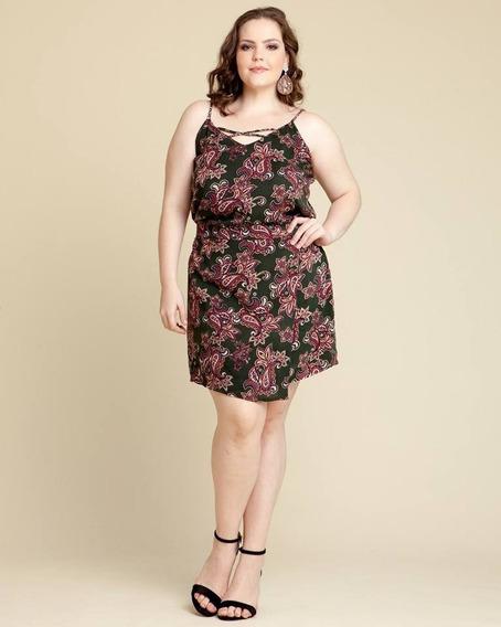 Vestido Roupas Plus Size Estampado Plus Size Viscose Tamanho Plus Size Gordinha Extra Grande Moda Evangélica