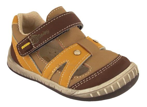 Sandalia Sport Brown 1ss6118 (20 Al 25) Abc Baby