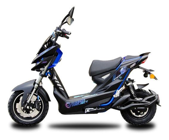 Moto Electrica Aima Bosch Jeek Azul Envios Nacionales