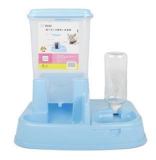 Comedero Y Bebedero Alimentador Automático Plato Para Perros