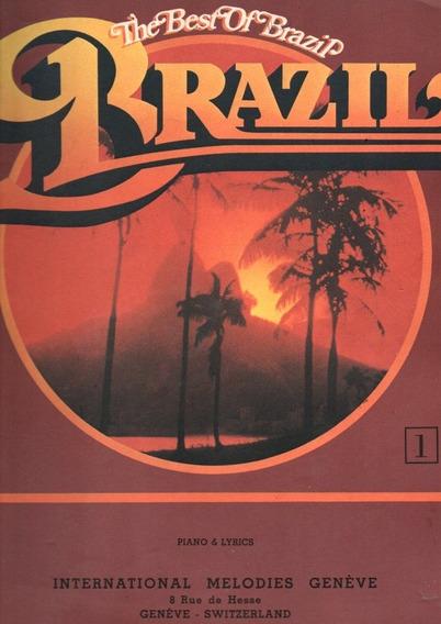Revista De Sifras The Best Of Brasil Piano E Lyrics Nº 01