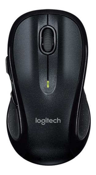 Mouse Sem Fio M510 Wireless Logitech Nano Preto Ergonomico