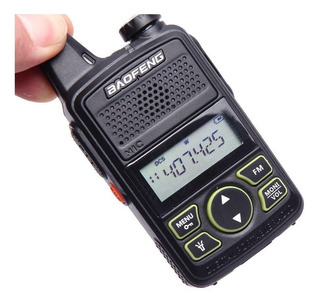 Radio Baofeng Bf-t1 Mini Walkie Talkie Dual Band Intercom