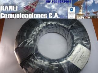 Cable Ramal Telefonico Tipo F 300m 1 Par
