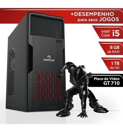 Desktop Gamer Positivo Station I581tbgi - Intel I5 8gb 1tb G