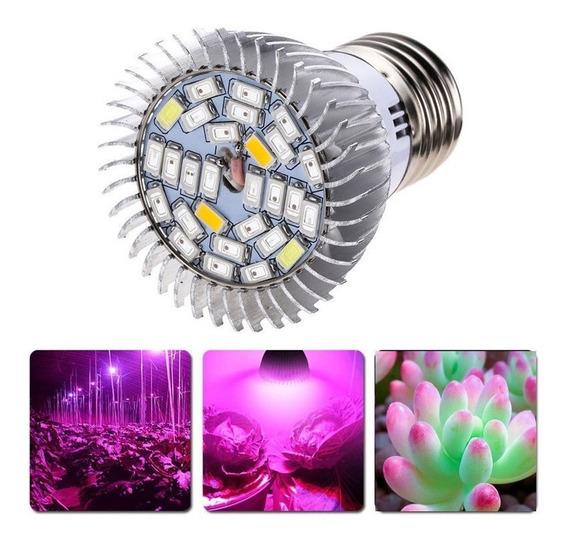 8 X Lâmpada Led Full Spectrum 28w 220v 110v Indoor Grow E27