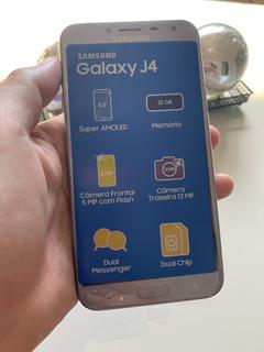 Smartphone Samsung Galaxy J4 Dual 32gb 4g