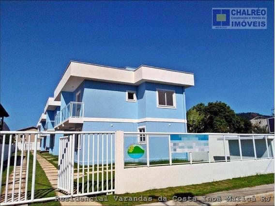 Venda Casa 02 Quartos Inoã Itaipuaçu Maricá Rj - Ca0001