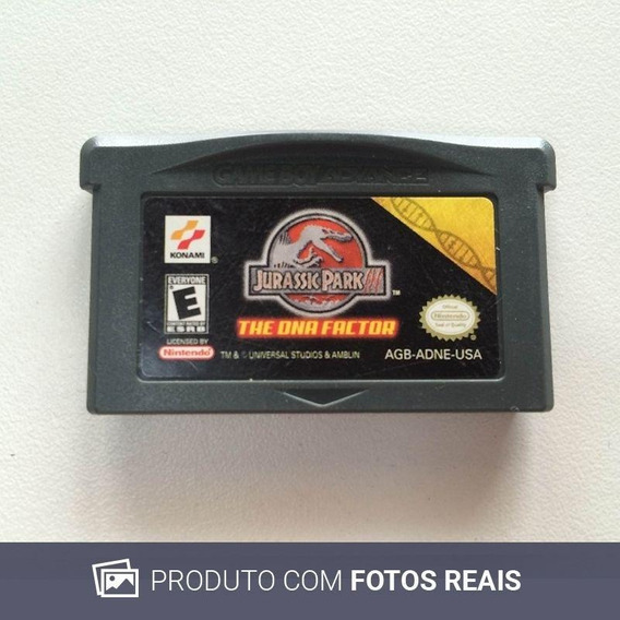 Jurassic World The Dna Factor Gba Game Boy Advance Física