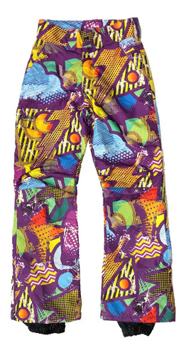 Pantalon Ski Termico Impermeable Ninos Nieve Jeans710 Jeans710