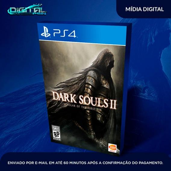 Dark Souls Ii Ps4 Psn Midia Digital Envio Já!