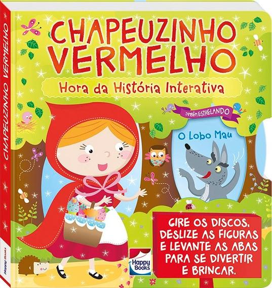 Livro - Hora Da História Interativa - Chapeuzinho Vermelho