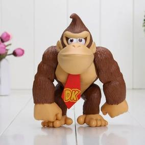 Boneco Donkey Kong Super Mario Bros Games Nintendo Gorila
