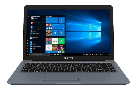 Notebook Positivo Intel Core I3-7020u 4gb 1tb Webcam Oferta!
