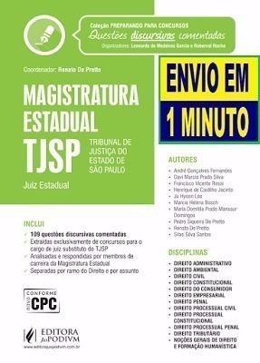 Magistratura Estadual Tjsp - Questões Comentadas Concursos