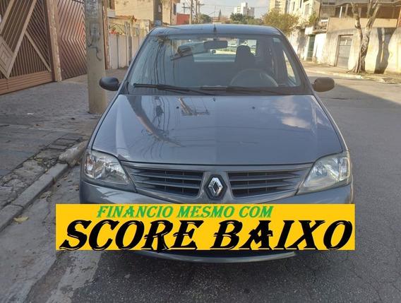 Renault Logan 2008 Financiamento Com Score Baixo