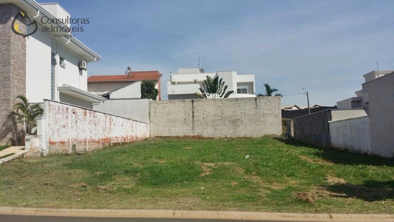 Terreno À Venda, 451 M² Por R$ 375.000 - Residencial Villa Lobos - Paulínia/sp - Te0087