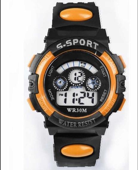 Relógio Modelo G-shoke Laranja