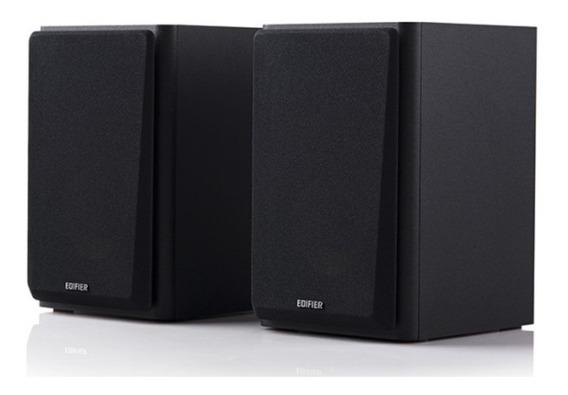 Monitor De Áudio R1000t4 Bivolt 24w Rms Edifier - Preta