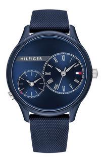Reloj Tommy Hilfiger De Caucho Unisex 1782146