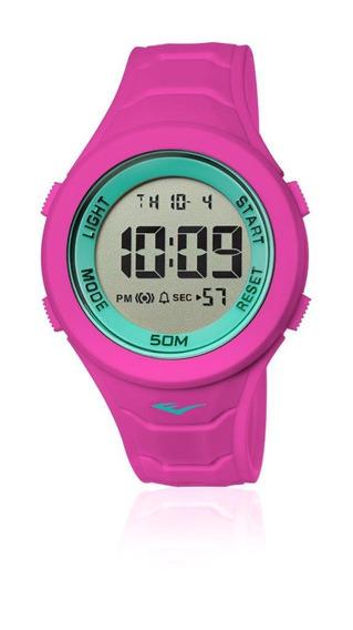Relógio Pulso Everlast Unissex Digital Rosa E717