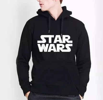 Moletom Canguru Star Wars Masculino Blusa Frio Casaco Unisex