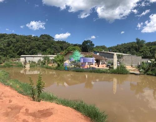Chácara Com Lago Em Atibaia - Rural - Venda - Ac Carro Como Parte De Pagamento - Ch00729