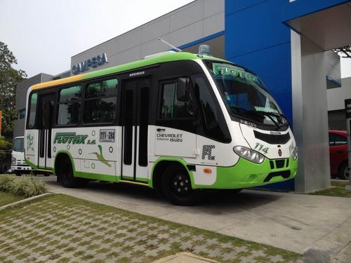 Bus Chevrolet 2015 Nkr 19 Pasajeros Con Cupo