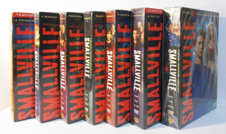 Box Smallville Dvds 1ª A 7ª Temporada Originais E Lacrados