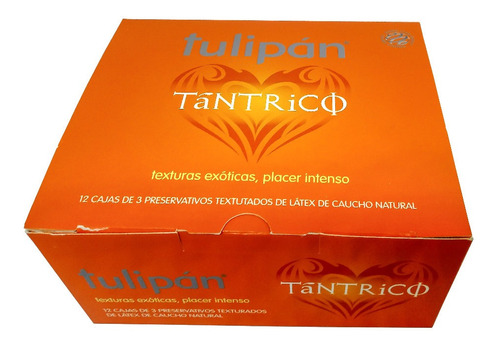 Tulipán Preservativos Tantrico 12 Cajitas X 3