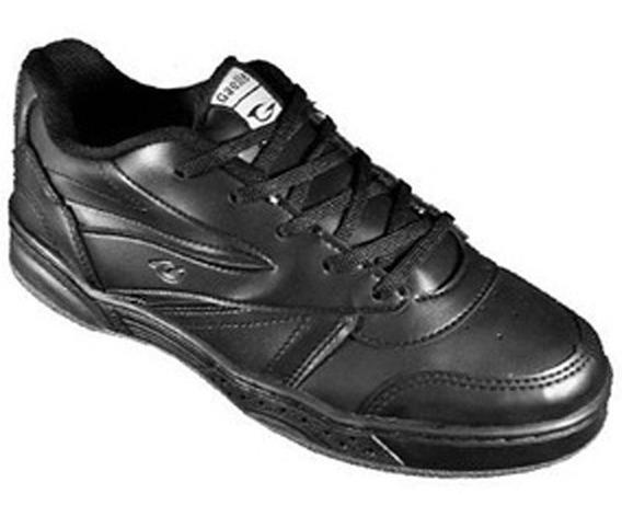 Zapatillas Gaelle Jimbo Hombre Cosidas Color Negro